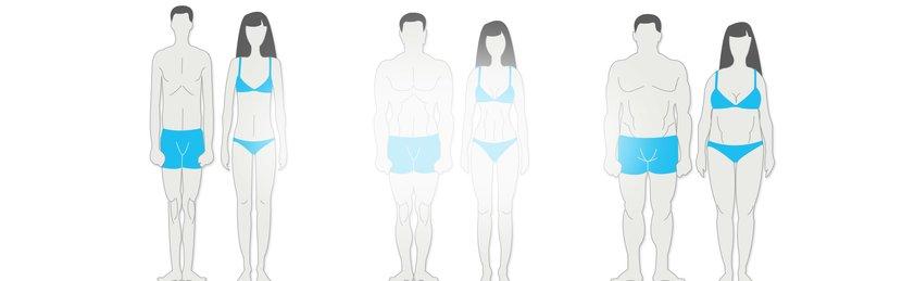 بدنسازی و تیپ های بدنی