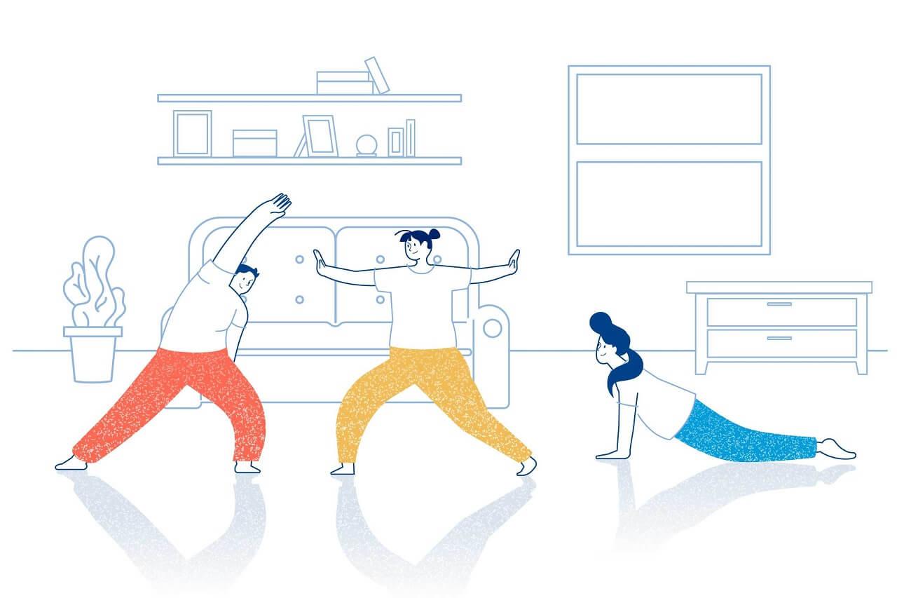 ورزش متناسب با هر تیپ بدنی