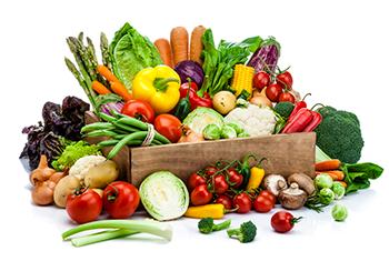 سبزیجات در تغذیه فیتنس کاران